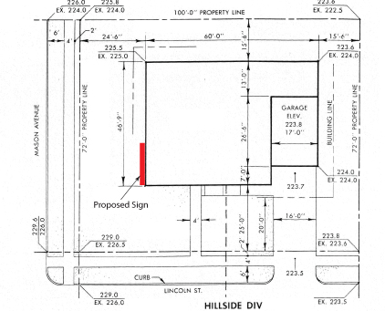 Lightspeed Professional Design Sign Permit Application